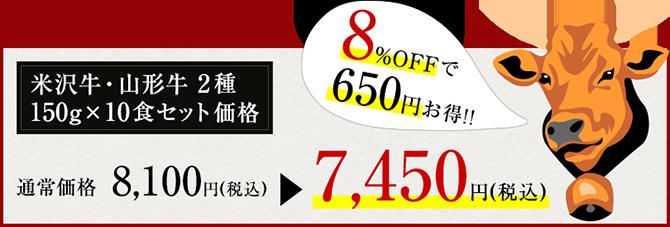 米沢牛+山形牛すき丼セット